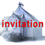 white church invitation